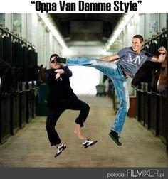 Oppa Van Damme Style // www.filmixer.pl