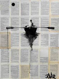 "Saatchi Art Artist Loui Jover; Drawing, ""sanctuary"" #art"