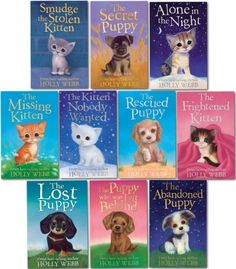 Holly Webb Series 2 Animal Stories, Pet Rescue Adventure - Puppy and Kitten 10 Books Collection Set (Books 11 To 20)   #PetRescue #Animal #Puppy #Adventure #Kitten #Book #ChildrensBook   http://www.snazal.com/holly-webb-series-2--animal-stories-pet-rescue-adventure--pu--DEALMAN-UD-Holly-10bks(11to20)S2.html