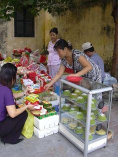 ベトナム、ハノイ(2004年) 祭りの日