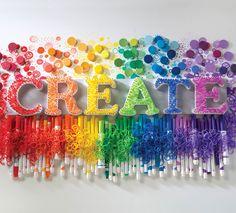 CREATE String Wall Art   String Art by @joannstores