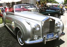 Concours on Rodeo 2001 - 1960 Rolls-Royce Silver Cloud II Convertible Vintage Cars, Antique Cars, Convertible, Royce Car, Bentley Rolls Royce, Rolls Royce Silver Cloud, Best Classic Cars, Classic Auto, Fire Trucks