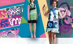 New Mod Prints & Graphics - Sartorial #ss16 #newmod #trends