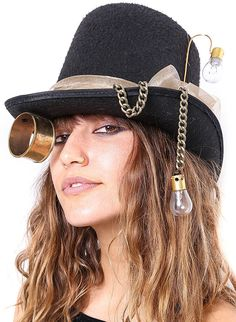 Steampunk Top Hat #Steampunk #behoneybee #funhats