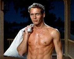 paul newman the long hot summer - Holy hell, just when I was sure that the men of my youth never had six packs. God I love Paul Newman! Robert Redford, Hollywood Stars, Hollywood Men, Hollywood Celebrities, Hollywood Glamour, Vintage Hollywood, Classic Hollywood, Paul Newman Joanne Woodward, Romantic Films