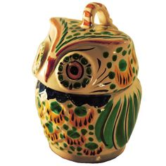 Owl Jar : Gorky Gonzalez Pottery Surroundings... perfect for my owl collection