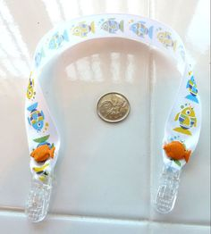 Bib Clip Baby Feeding Fish Under 5 by SouthamptonCreations Paper Napkins, Baby Feeding, Burp Cloths, Washing Clothes, Fish, Gifts, Handmade, Style, Presents