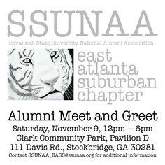 SSUNAA East Atlanta Chapter Meet and Greet http://www.ssunaa.com/easc-meet-and-greet/