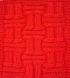 Double Basketweave Square