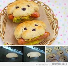 Cute Hot Dogs