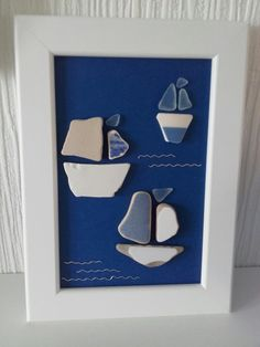 Seaglass and sea pottery from Solent beaches
