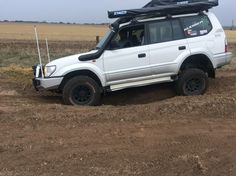 Loving the rear flex Toyota Land Cruiser Prado, Offroad, 4x4, Jeep, Automobile, Garage, Trucks, Bike, Vehicles
