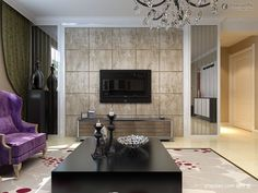 Living Room Wall Tiles Design Pictures
