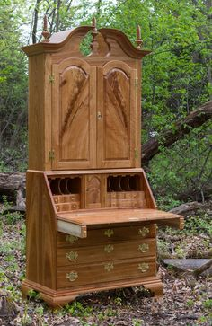 Secretary Desk and Bookcase
