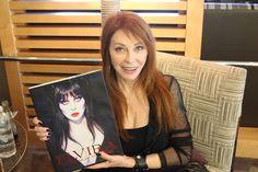 Cassandra Peterson, aka Elvira, Mistress of the Dark