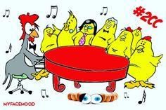 Talentuosi #musicisti di tutto il mondo? Tremate! Adesso c'è #Jokgu 🐔, il pollo che suona il #pianoforte!  Leggi tutto e vedi il #video qui🐔🐓🐔