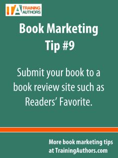 Submit your book to a #BookReview site such as Readers' Favorite.  You can submit your book to Readers' Favorite for free to be reviewed here:  http://www.trainingauthors.com/readersfavorite