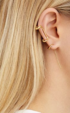 Single Ivy Earring by Charlotte Chesnais for Preorder on Moda Operandi