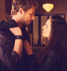 Lost Girl - Dyson & Bo. Team Dyson all the way.