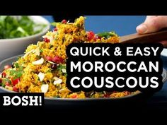 Quick and Easy Moroccan Couscous - BOSH!