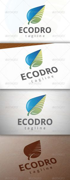 Package Three color version: Color, greyscale and single color. The logo is 100 resizable. You can change text and colors very ea