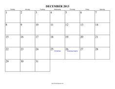 Blank Calendar Printable My Calendar Land | Words to live by ...