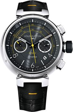 Louis Vuitton Tambour Automatic Chronograph Flyback Watch