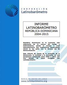Informe Latinobarómetro República Dominicana 2004-2015
