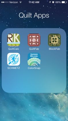 Apps for Quilters ~ Right Sides Together