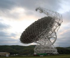 The Green Bank telescope by Shami Chatterjee, via Flickr.The Robert C. Byrd Green Bank Telescope is the world's largest fully steerable radio telescope and the world's largest land-based movable structure. It is part of the National Radio Astronomy Observatory site at Green Bank, West Virginia, USA.