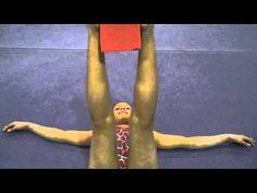 Inner Thigh Tightening Gymnastics Skills, Gymnastics Coaching, Gymnastics Training, Gymnastics Videos, Gymnastics Workout, Leg Strengthening Exercises, Thigh Exercises, Back Exercises, Gymnastics Conditioning