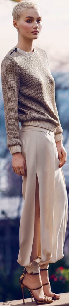 HANEY Fall 2016 RTW women fashion outfit clothing style apparel @roressclothes closet ideas
