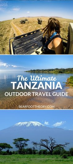 Plan an adventurous trip to Tanzania with our outdoor travel guide featuring the best outdoor activities, wildlife parks & popular blog posts.