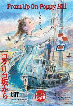 From Up on Poppy Hill  (2011) [コクリコ坂から / Kokuriko zaka Kara] Directed : Goro Miyazaki