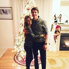 Wives and Girlfriends of NHL players: Stephanie Lachance & Mitch Marner Hockey Girlfriend, Hockey Wife, Wife And Girlfriend, Nhl Penguins, Nhl Wallpaper, Mitch Marner, Nhl Logos, Nhl News, Nhl Jerseys