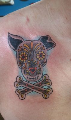 next tattoo idea - sugar skull dog...love this! 8531 Santa Monica Blvd West Hollywood, CA 90069 - Call or stop by anytime. UPDATE: Now ANYONE can call our Drug and Drama Helpline Free at 310-855-9168.