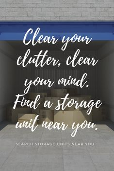 Find local storage units on Yahoo Search & de-clutter your life.