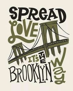 spread love it's the brooklyn way shirt - Bing Images