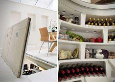 Underground Spiral Wine Cellar Storage System 4