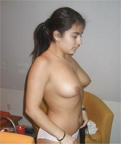 Nude girls bent straight down