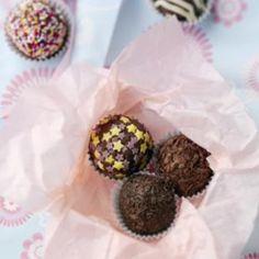 Chocolate Truffles   http://www.nationalbakingweek.co.uk/content/chocolate-truffles