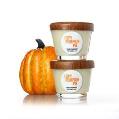 Add a touch of warmth with I Spy Pumpkin Pie™ candle by themefragrance.