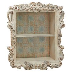 Featuring 2 shelves and an antique-inspired frame, this piece is the perfect addition to your living room or den. Display cherished heirlooms or tea lights f...