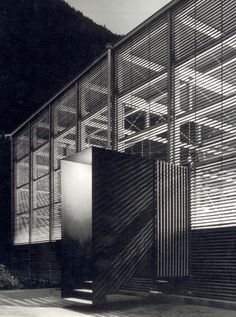 Peter Zumthor - Shelter for Roman Ruins, Chur