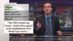 /// John Oliver Explains The World Cup And FIFA To Americans (VIDEO)