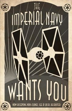 Recruiting Poster - Imperial Navy