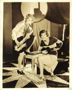 marciamattos:    Jazz babies Anita Page and Joan Crawford in Our Dancing Daughters - 1928  #oldhollywood #jazzbaies #joancrawford #anitapage #flapper #1920s