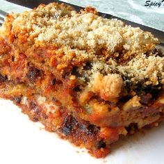 Eggplant Parmesan - A simple and tasty Italian dish for a get together or thanksgiving dinner. You can make it in less time and get everyone's appreciation.