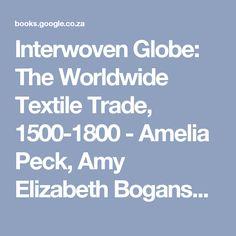 Interwoven Globe: The Worldwide Textile Trade, 1500-1800 - Amelia Peck, Amy Elizabeth Bogansky - Google Books