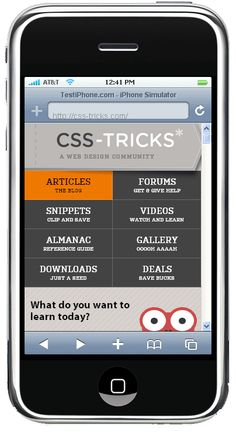 How to create media queries in Responsive Web Design